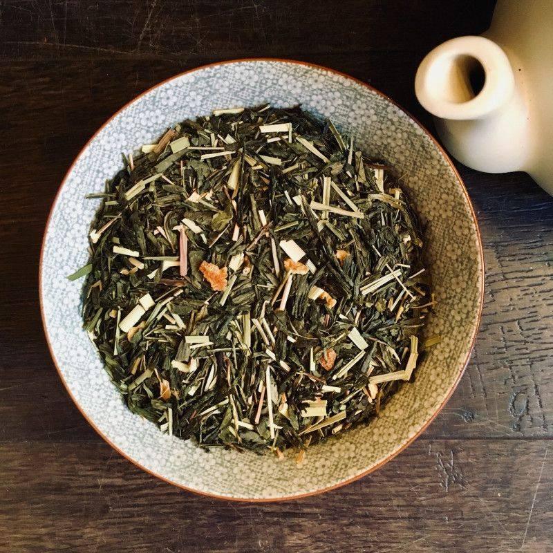 Green Lemon Sencha - Green Tea
