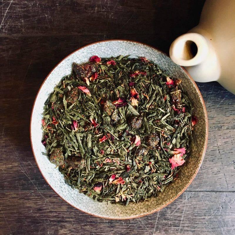 Green Cranberry Tea - Green Tea