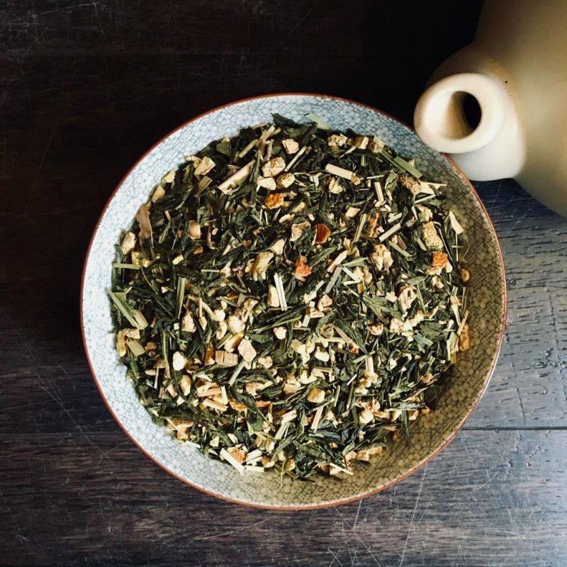Sencha Orange Ginger - Green Tea