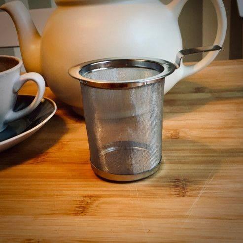 Tea strainer 70mm with handle - Tea Preparation