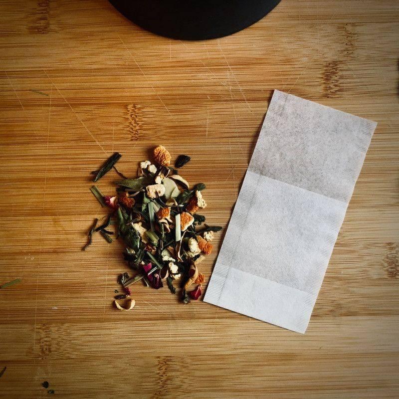 Theefilters - kop - Tea Preparation