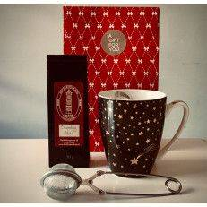 Shooting Star Tea Package (black mug) - Gift Packages