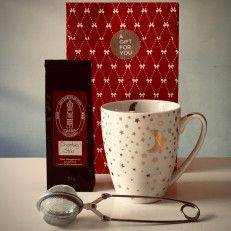 Shooting Star Tea Package (white mug) - Gift Packages