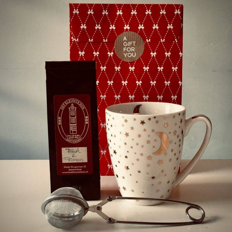Fresh & Fitness Tea Package (white mug) - Gift Packages