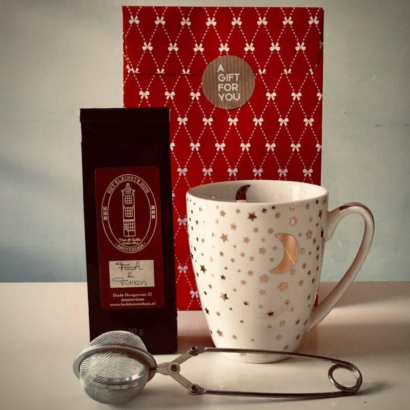 Fresh & Fitness Tea Package (white mug) - Gift Packages