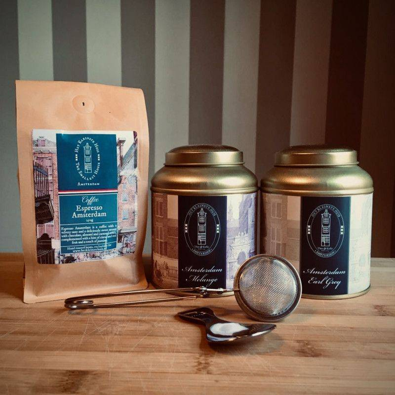 Amsterdam Thee- en koffiepakket - Cadeaupakketten