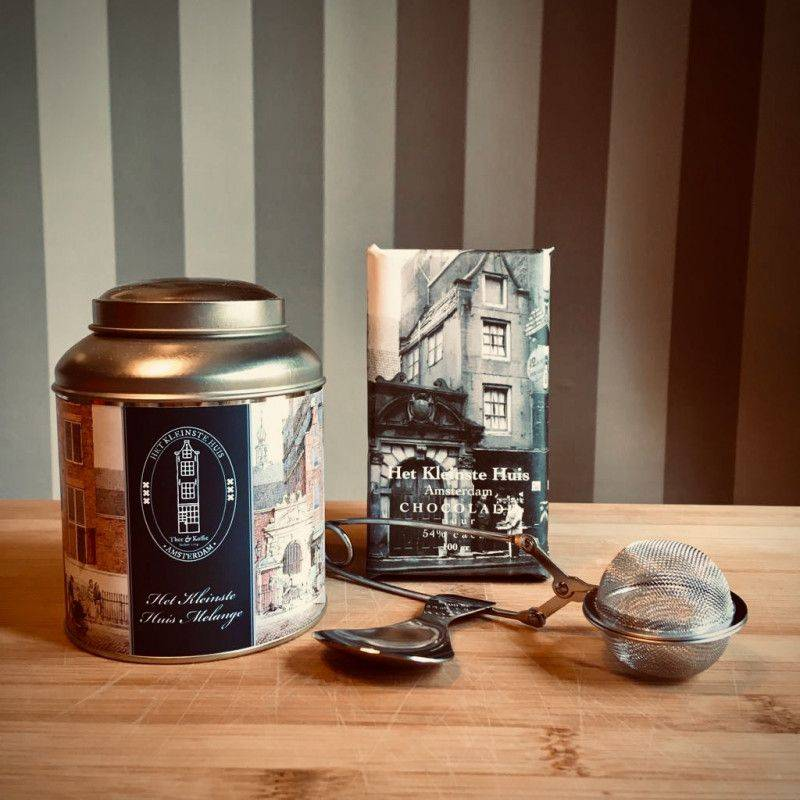 The Smallest House Tea Package Luxury with Dark Chocolate - Gift Packages