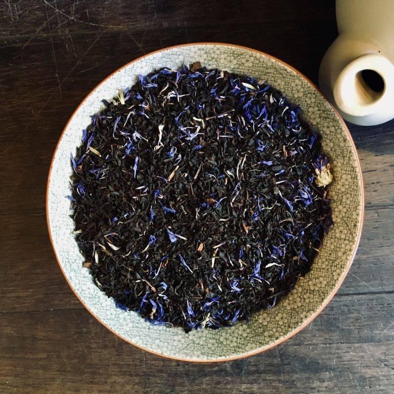 English Earl Grey Blue Flower - Zwarte Thee