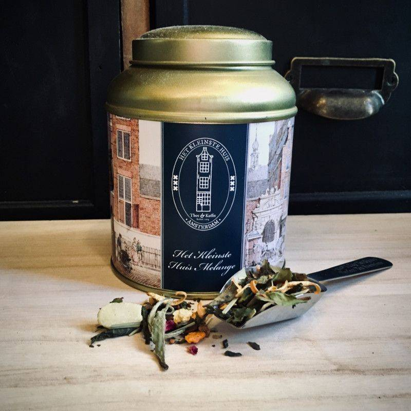 Tea Tin The Smallest House Blend - White Tea
