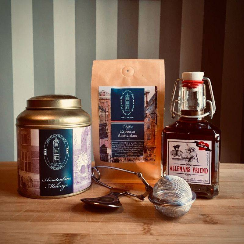 Fijnproeverspakket met Caramel likorette - Cadeaupakketten