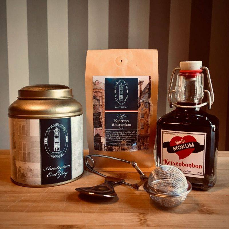 Fijnproeverspakket met Kersenbonbon likorette - Cadeaupakketten