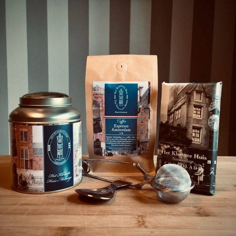 Verwenpakket met pure chocolade - Cadeaupakketten