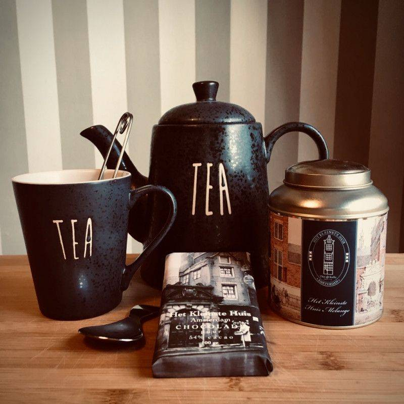 Tea time package with dark chocolate - Gift Packages