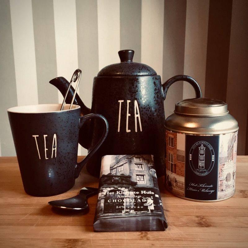 Tea Time Pakket met pure chocolade - Cadeaupakketten