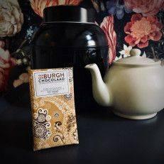 Puur 54% met grof gemalen Honduras Koffie - Van der Burgh - Chocolade
