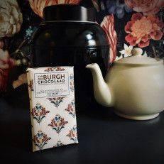 Melkchocolade met druppels van pure chocolade (40%) - Van der Burgh - Chocolade