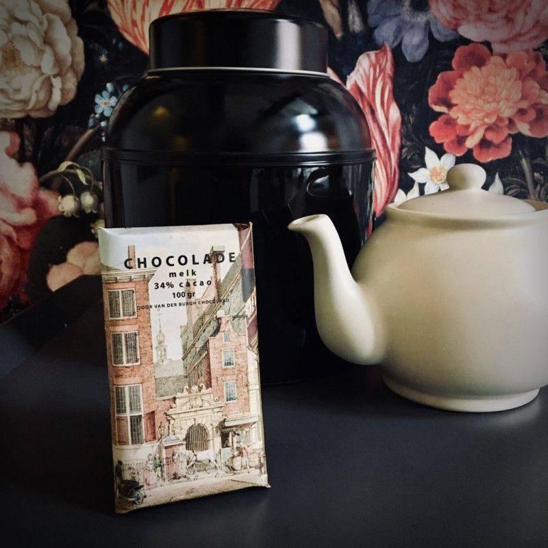 Romige Melkchocolade 34% - Het Kleinste Huis - Chocolade