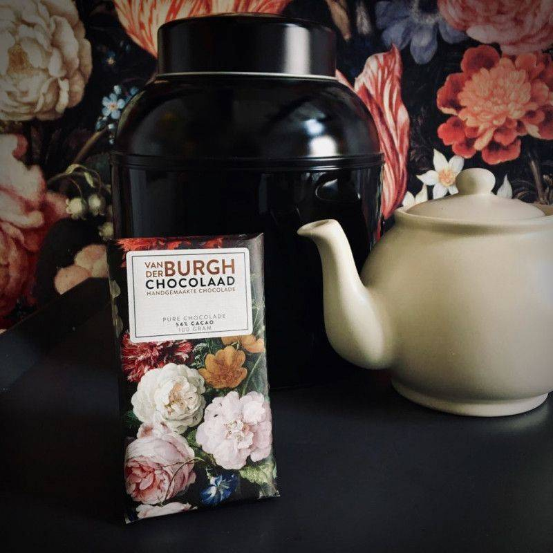 Pure chocolade 54% - Van der Burgh - Chocolade