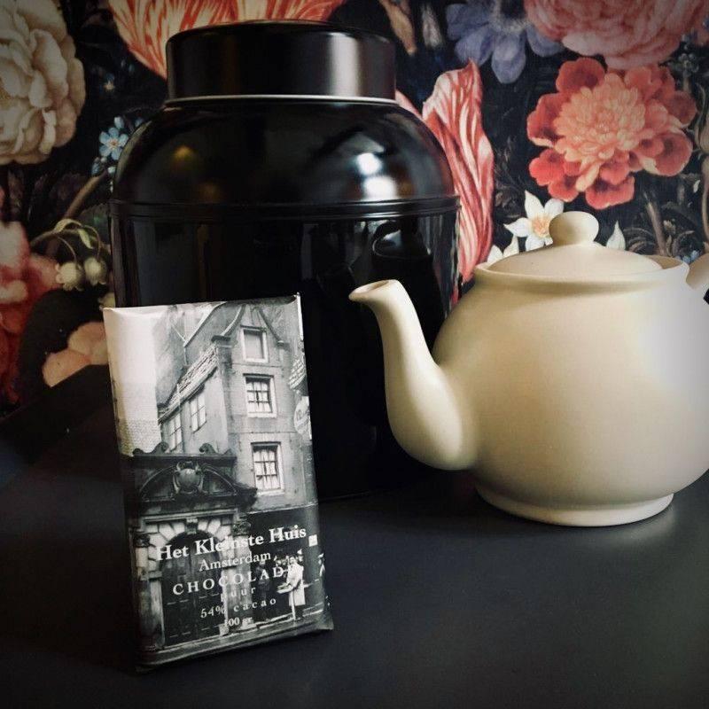 Pure chocolade 54% - Het Kleinste Huis - Chocolade
