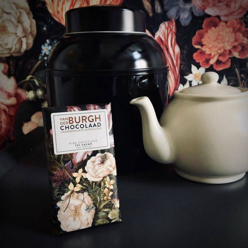 Puur Chocolade 72% - Van der Burgh - Chocolade