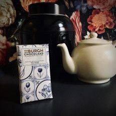 Delfts Blauw melkchocolade 34% - Van der Burgh - Chocolade