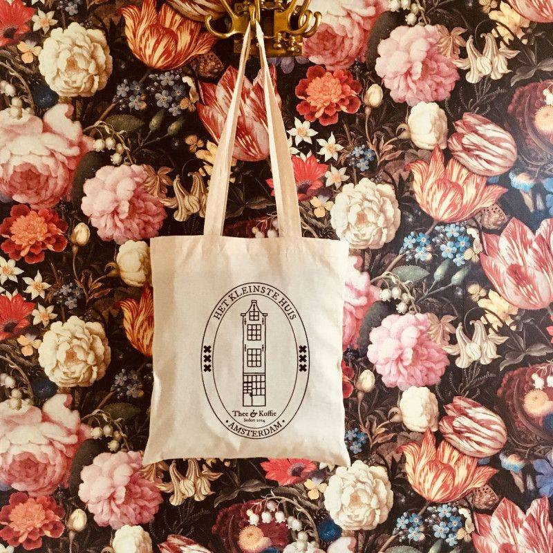 The Smallest House Canvas Tote - Home