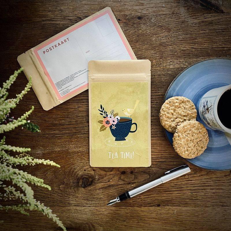 Theekaart - Tea Time! - T-mail