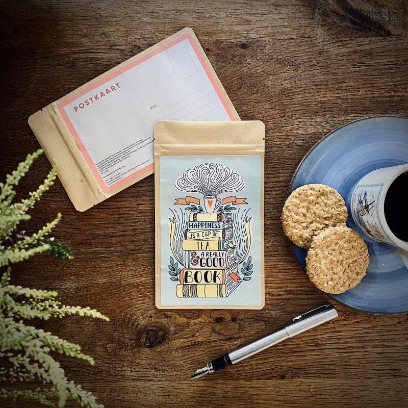 Tea Postcard - Happiness - T-mail