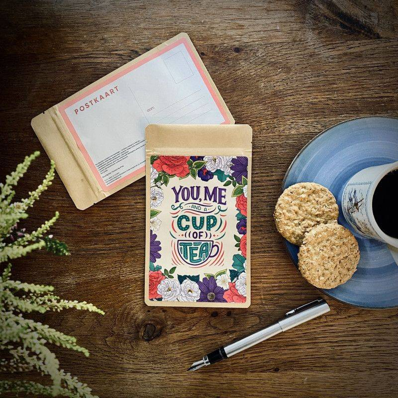 Theekaart - You, me and a cup of... - T-mail