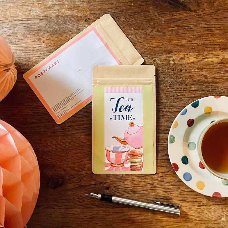Tea Postcard - It's Tea time - T-mail