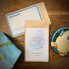 Tea Postcard - It's a boy! - T-mail
