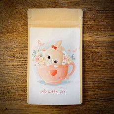 Tea Postcard - Hello little one (bunny) - T-mail
