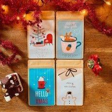 Tea Postcard - Hello Winter - T-mail