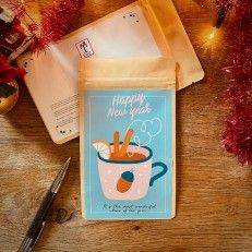 Tea Postcard - Happy New Year - T-mail