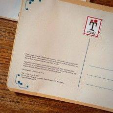 Tea Postcard - Merry & Bright - T-mail