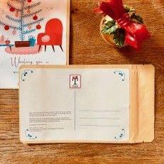 Tea Postcard - Warm Wishes - T-mail