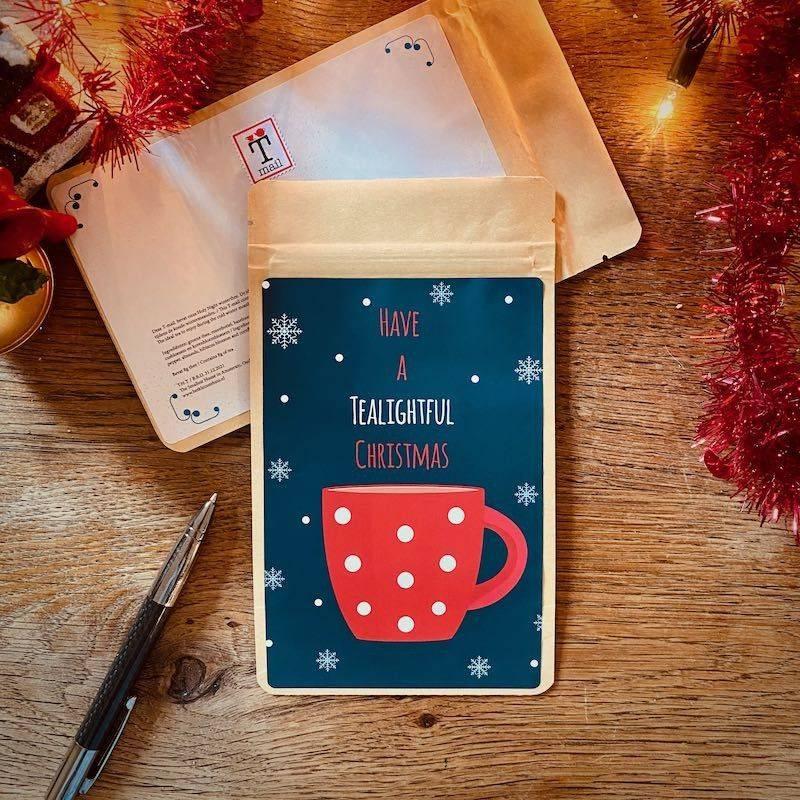 Theekaart - Tealightful Christmas - T-mail