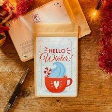Tea Postcard - Hello Winter
