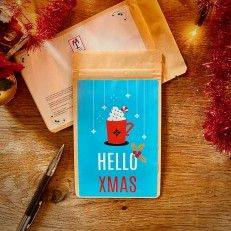 Tea Postcard - HELLO XMAS - T-mail