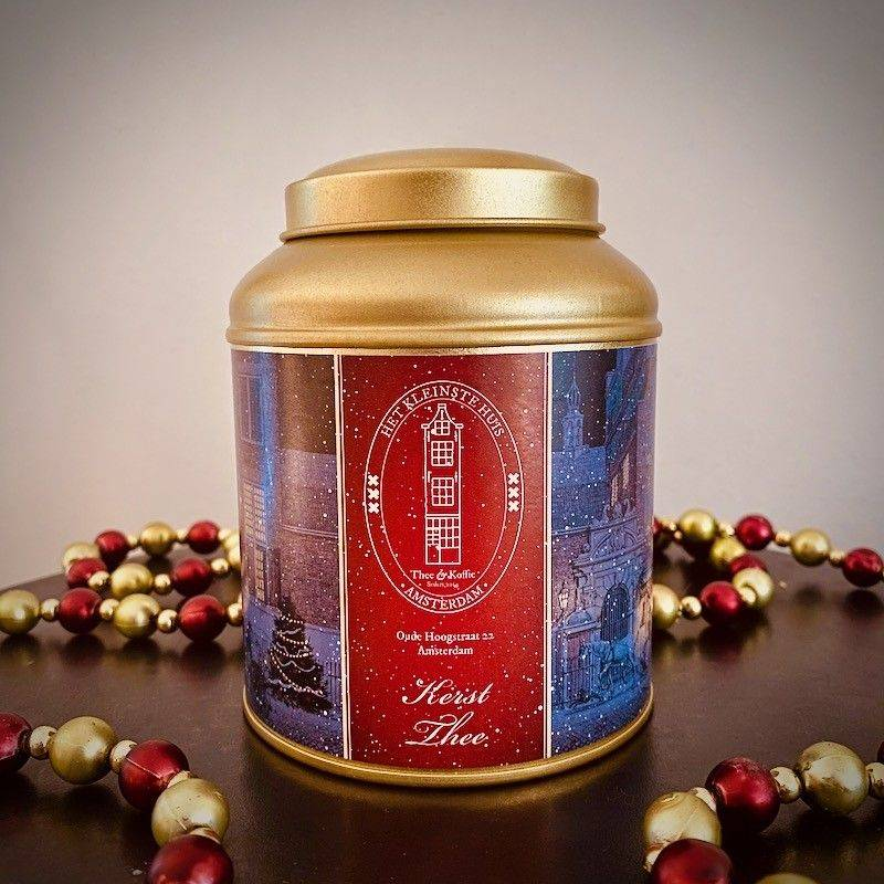 Tea Tin Christmas Tea - Saint Nicholas & Christmas Tea