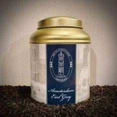 Tea Tin Amsterdam Earl Grey - Black Tea