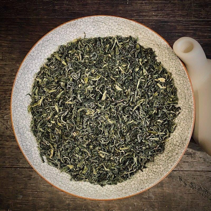 Japanese Tamaryokucha Mikazuki - Organic - Green Tea