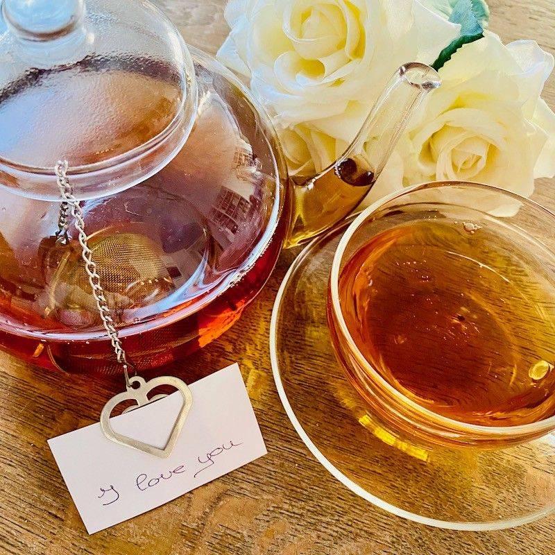 Tea infuser 'Leave a note...' - Tea Preparation