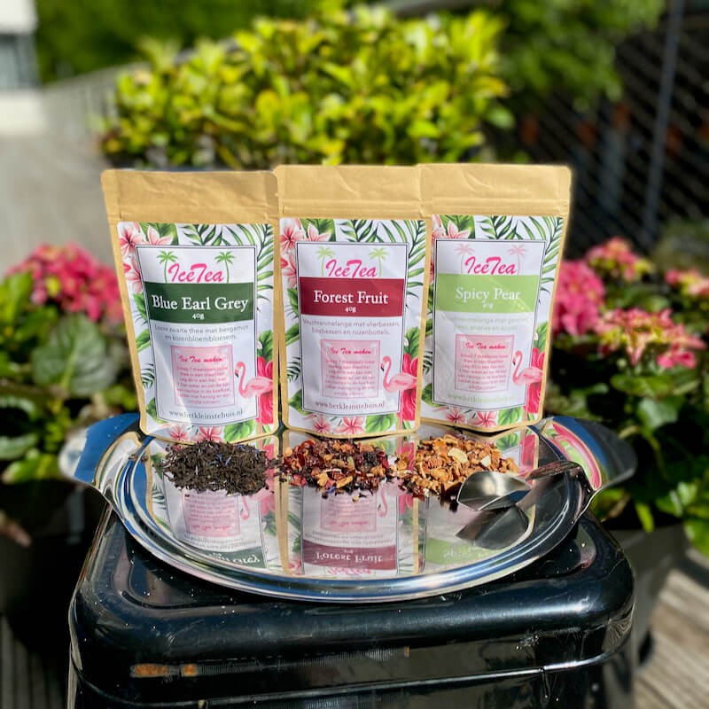 Iced tea package - Products