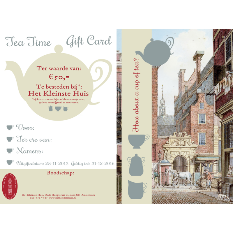 The Smallest House Gift Voucher - Wellness