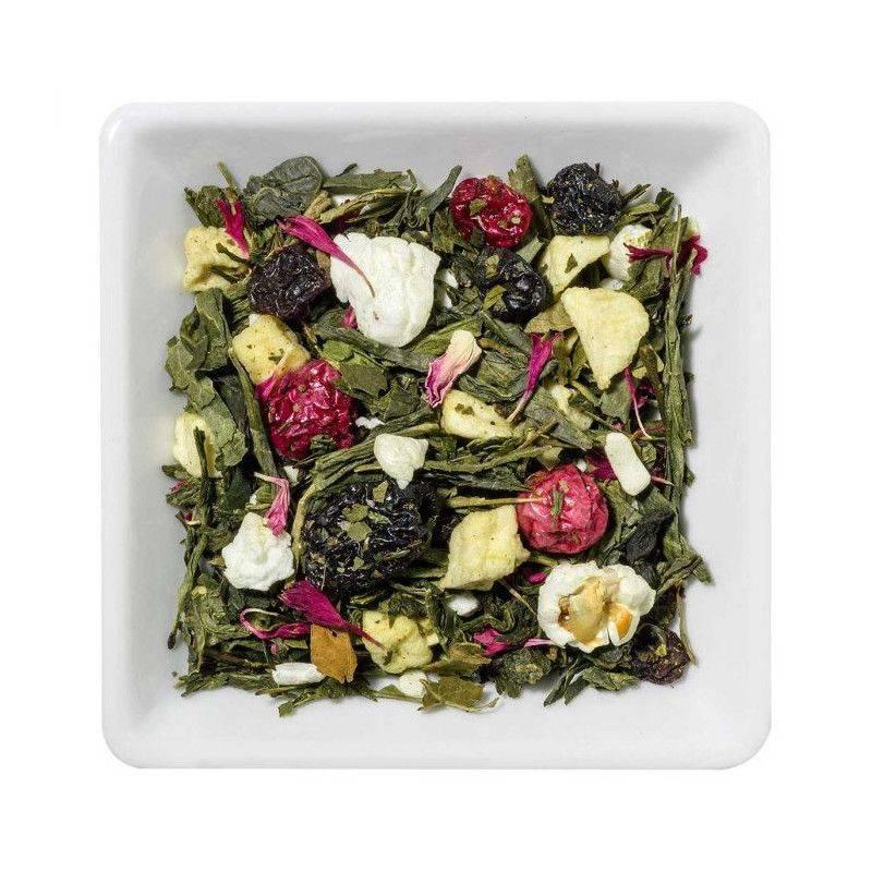 Yoghurt-Amarena-Cherry - Green Tea
