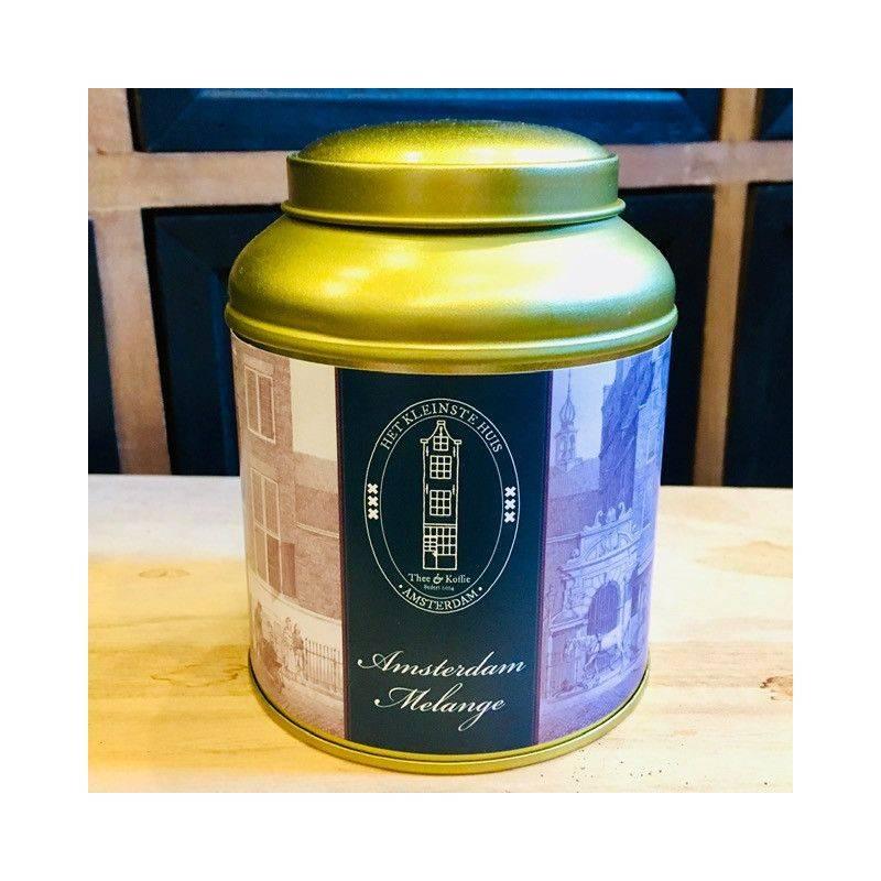 Tea Tin Amsterdam Melange - Black Tea