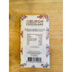 Milk chocolate with drops of dark chocolate (40%) - Van der Burgh - Chocolate