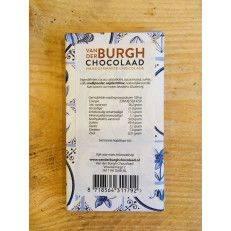 Delft Blue milk chocolate 34% - Van der Burgh - Chocolate