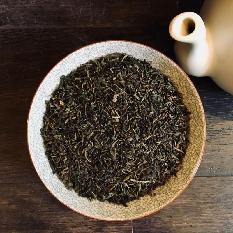 Jasmijn thee met bloesem - Groene Thee
